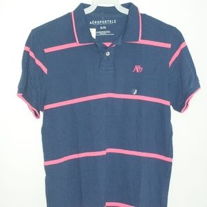 Aeropstale Mens Polo Short Sleeve Shirt Sz. XL NWT